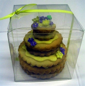 3 Tier Mini Hand Dec. Cookie Cake