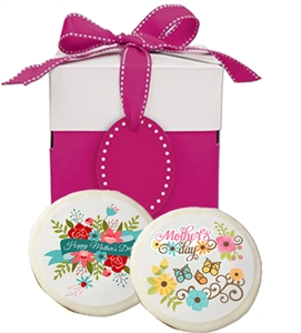 Mother's Day Greeting Cookies, Gift Box of 6