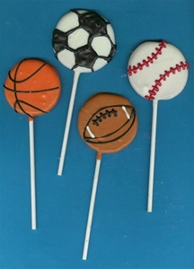 Sports Ball Mini Cookies