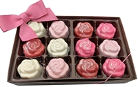Mini Oreo® Cookie - Roses, Gift Box of 12