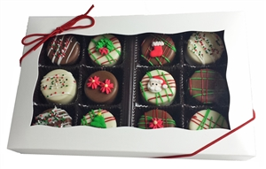 Mini Oreo Cookies Holiday Designs, Gift box of 12