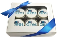 Mini Logo Oreo® Cookies - Gift Box of 6 (ASI ONLY)