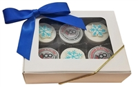 Mini Oreo® Cookies - Logo, Holiday Gift box of 6
