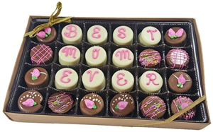 Mini Oreo Cookies Valentine's Designs, Gift box of 24