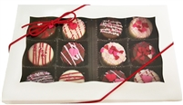 Mini Oreo Cookies Valentine's Designs, Gift box of 12