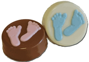 Oreo cookie Baby Feet, EA
