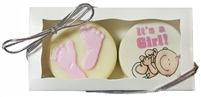 Oreo cookie Baby Favor Box of 2