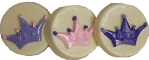 Princess crown oreo cookie