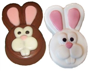easter bunny oreo cookie