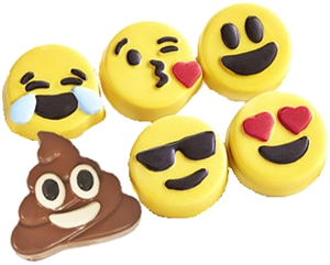 Emoji oreo cookie