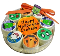 Oreo Cookies Personalized Halloween Gift Tin