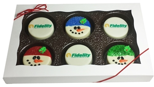 Oreo Cookies Logo Holiday Gift Box of 6