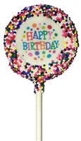 Oreo Cookie Pops Birthday Image, EA