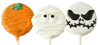 Oreo Cookie Pops Halloween Designs