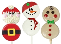 Oreo Cookie Pops Holiday Buddies