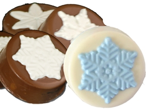 Snowflake Oreo® Cookies, Chocolate Covered, ea.