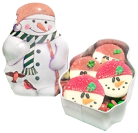 Oreo Cookies Small Snowman Gift Tin