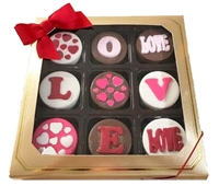 Oreo® Cookies - Love Valentine's Designs, Gift box of 9
