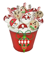 Oreo Cookies Christmas Bouquet
