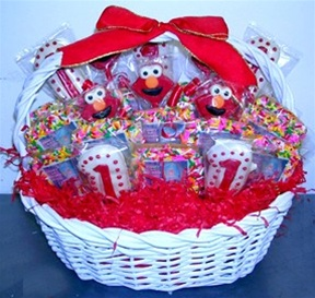 Photo Cookie Centerpiece w/HD cookies, Elmo or other Theme