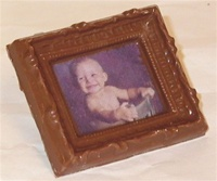 Small Photo Chocolate Frame