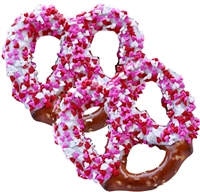 Pretzel Twists - Dipped Valentine's Theme