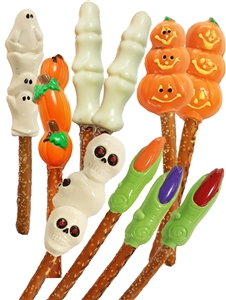 Pretzels Molded Halloween Theme