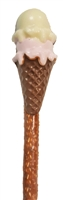 Pretzels - Molded Ice Cream Cone, EA