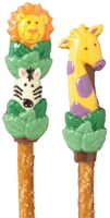 Pretzels Molded Jungle Animals, EA