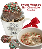 Sweet Melissa's Hot Chocolate Bombs & Cookie Spoons Gift Mug