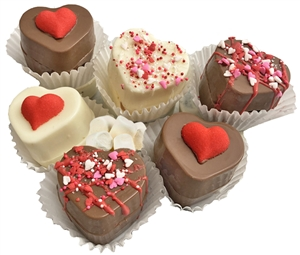 Sweet Melissa's Heart Shaped Hot Chocolate Bombs. each