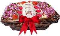 Assorted Valentine Sweet Treats Gift Basket