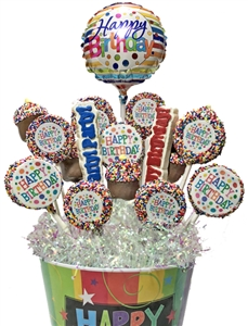 Sweet Treats Assorted Birthday Bouquet