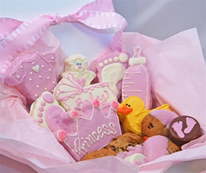 Sweet Treats Gift Box New Baby