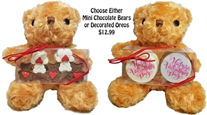 Sweet Teddy Bear Hugging Gift Box