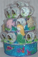 3 Tiered Centerpiece Custom, Cookies