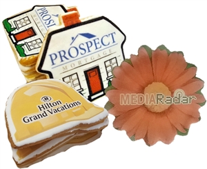 Direct Print Logo Cookies Custom Shape