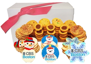 Let it Snow Gourmet Logo Cookie Gift Box