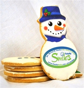 Direct Print Logo Cookies Snowman