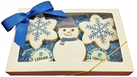 Direct Print - Winter Logo Cookie Gift Box of 5