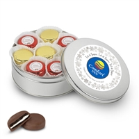 Your Logo Foiled Oreo Gift Tin of 16