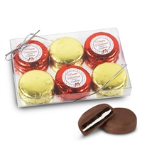 Personalized Merry Christmas Foiled Oreos - 3 pk
