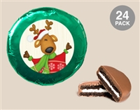 Foil Wrapped Oreo® Cookies - Christmas, Set of 24
