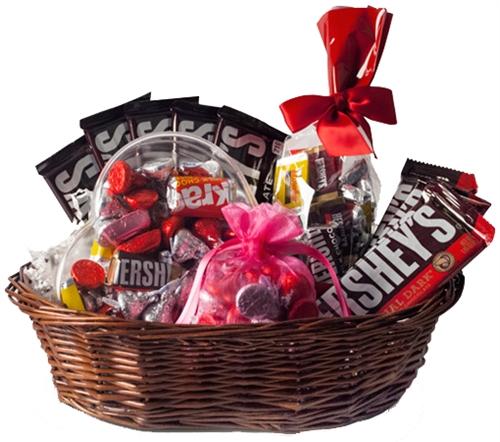 Large Valentine S Day Chocolate Gift Basket
