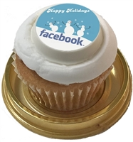Mini Cupcake - Logo or Photo, each