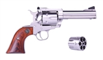 "Ruger Blackhawk Convertible 4.6"" Stainless .40S&W + 10MM 0476"