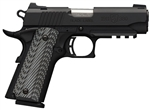 "Browning Black Label 1911-380 Pro Compact w/ Rail & Night Sights 3.625"" .380ACP 051911492"