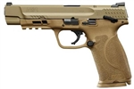 "Smith & Wesson M&P M2.0 5"" FDE (Thumb Safety) 9mm 11537"