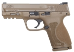 Smith & Wesson M&P M2.0 Compact FDE (NO Safety) 9mm 12458