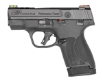 "Smith & Wesson M&P Shield Plus 3"" Ported Performance Center 13+1 No Thumb Safety 9mm 13254"